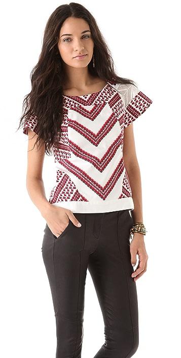 Thakoon Seamed T-Shirt