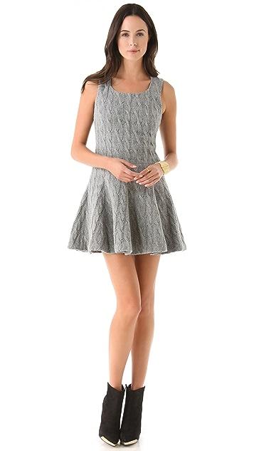 Thakoon Seamed Waist Dress