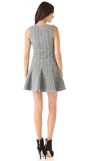 Thakoon Seamed Waist Dress