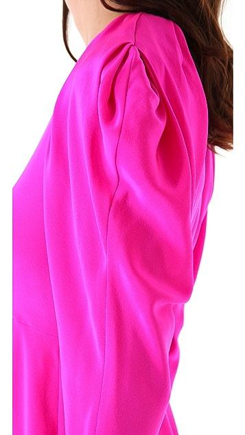 Thakoon Draped Sleeve Shift Dress