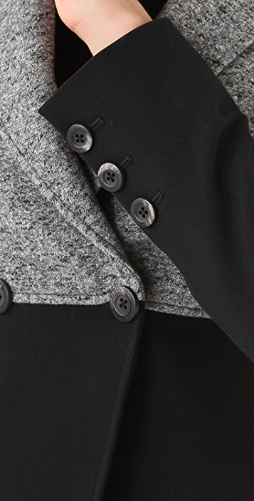 Thakoon Fitted Double Breasted Jacket