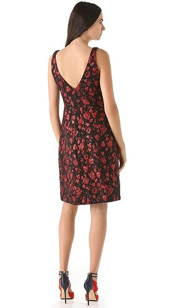 Thakoon Heart Jacquard Dress