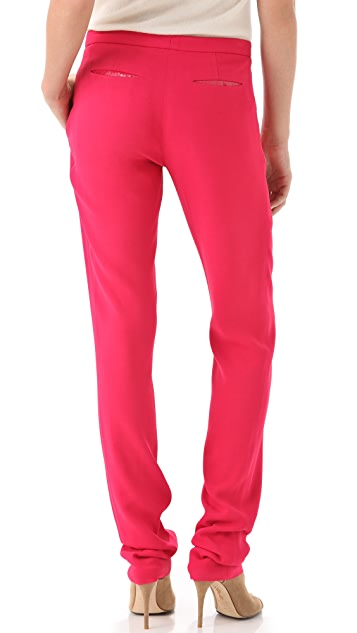 Thakoon Stretch Crepe Trousers
