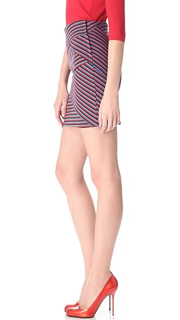 Thakoon Striped Miniskirt