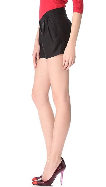 Thakoon Pleated Shorts