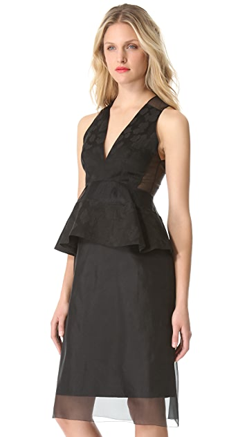 Thakoon Sleeveless Peplum Dress