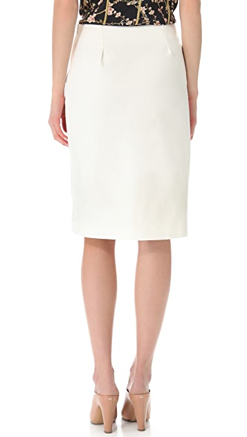 Thakoon Embroidered Skirt