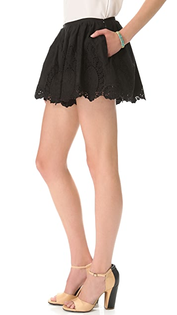 Thakoon Full Lace Shorts