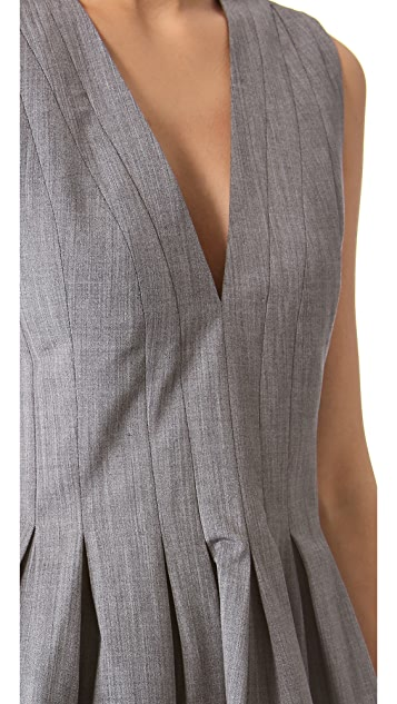 Thakoon Seamed Waist Top