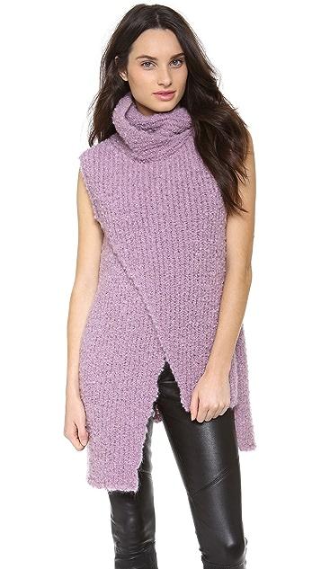 Thakoon Sleeveless Turtleneck Sweater