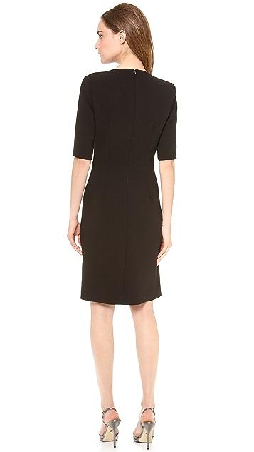 Thakoon Jeweled Side Slit Dress