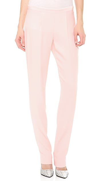 Thakoon Pleated Crepe Trousers