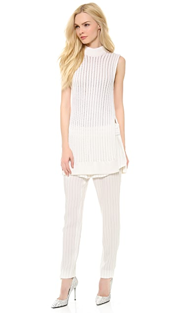 Thakoon Floating Rib Knit Tunic