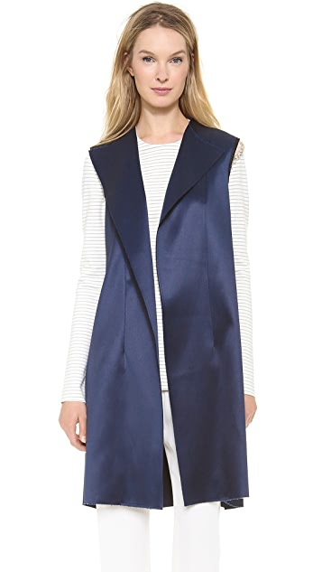 Thakoon Vest with Jewel Chain