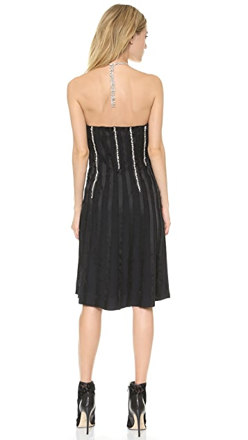 Thakoon Jewel Seamed Sleeveless Dress