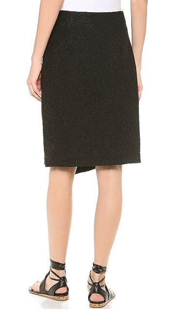 Thakoon High Waist Wrap Skirt