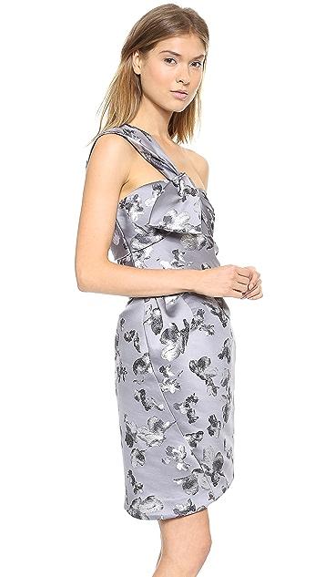 Thakoon One Shoulder Wrap Dress
