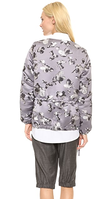 Thakoon Gathered Jacquard Anorak