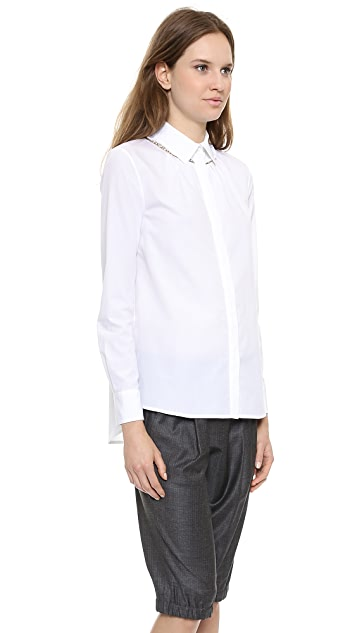Thakoon Jewel Trim Shirt