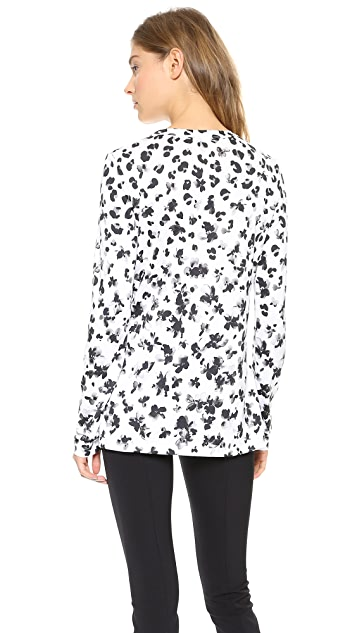 Thakoon Long Sleeve Top