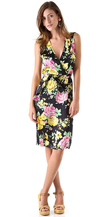Thayer Go Deep Printed Dress
