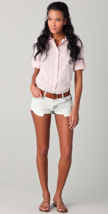 Thayer Slit Back Button Down Shirt