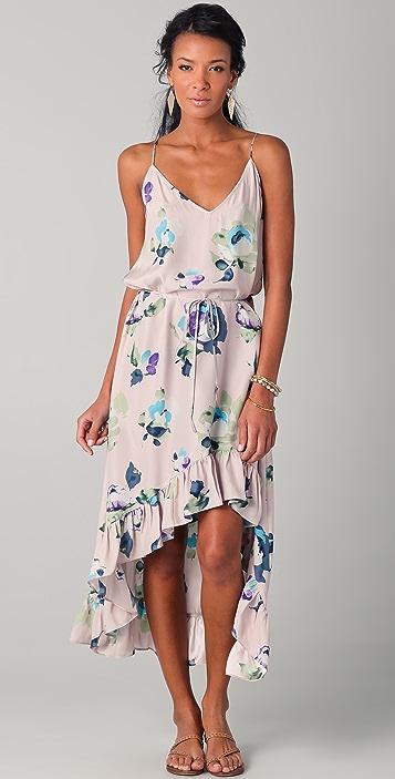 Thayer Wild One Floral Maxi Dress
