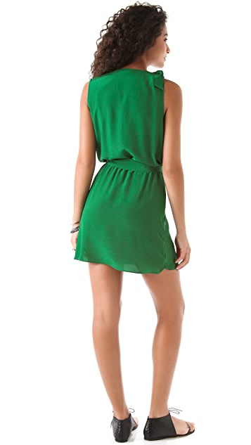 Thayer Sleeveless Crossover Dress