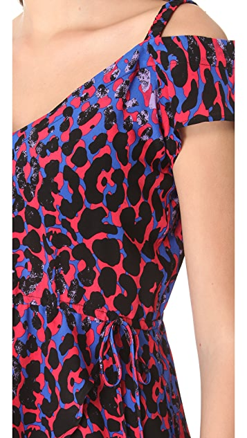 Thayer Open Shoulder Cover Up Dress