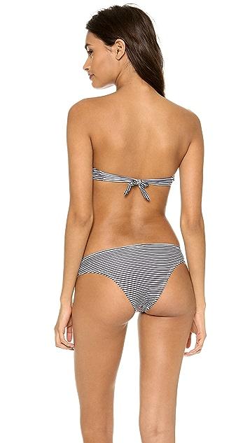 Thayer Deep V Bandeau Bikini Top