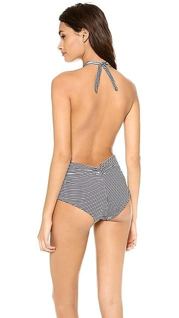 Thayer Halter One Piece Swimsuit