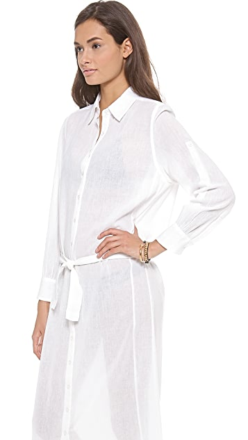 Thayer Shirt Dress Cover Up