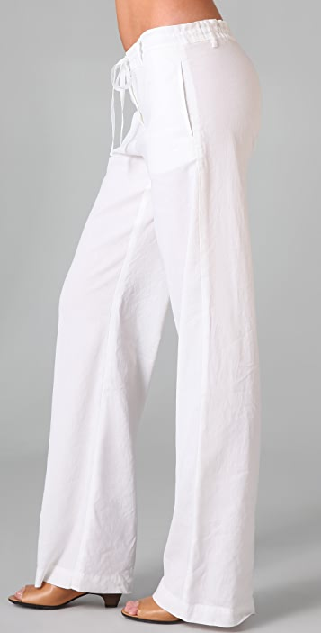 Theory Kernie Linen Pants