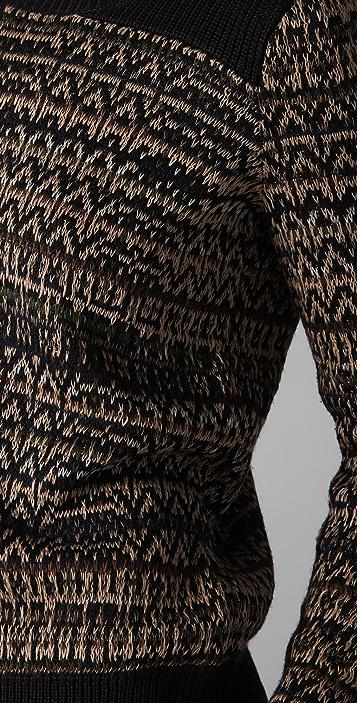 Theory Hadar Chunky Silk Sweater