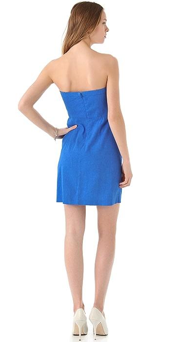 Theory Tyrah Strapless Dress
