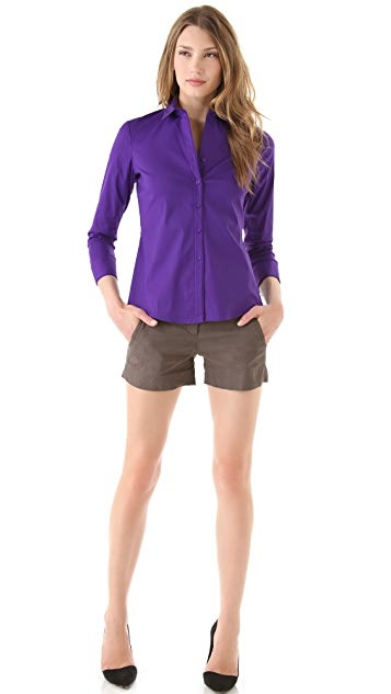 Theory Trisanne Blouse
