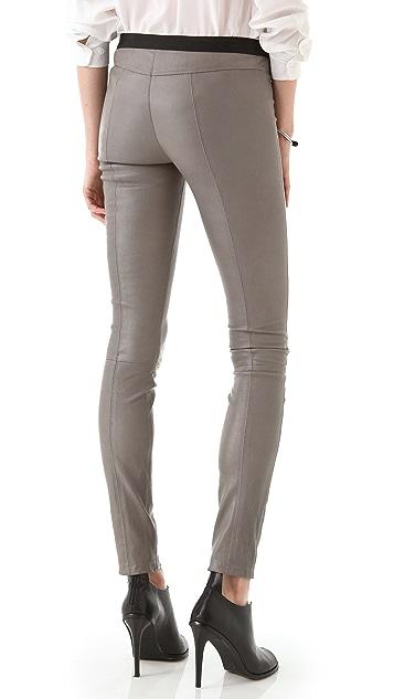 Theory Ima Danish Leather Pants
