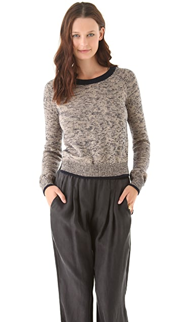 Theory Abner B Marled Sweater