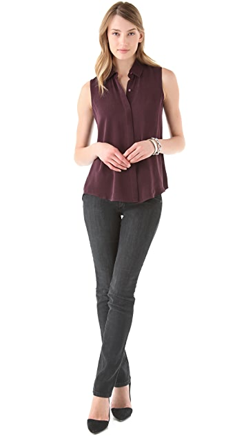 Theory Earhart Cicero Blouse