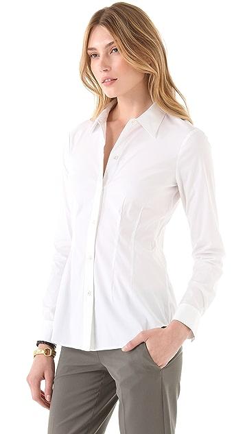 Theory Sanai Luxe Shirt