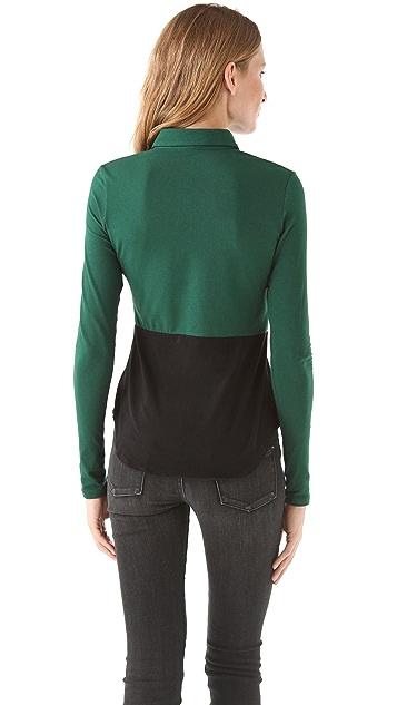 Theory Ojayna Encase Shirt