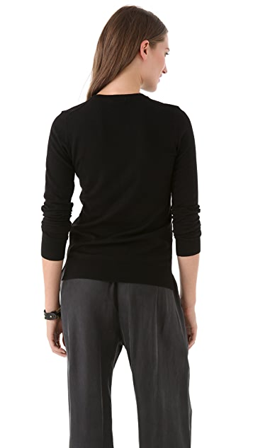 Theory Tommie Evian Stretch Top