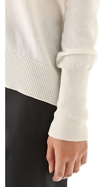Theory Sutton B Cashmere Turtleneck Sweater
