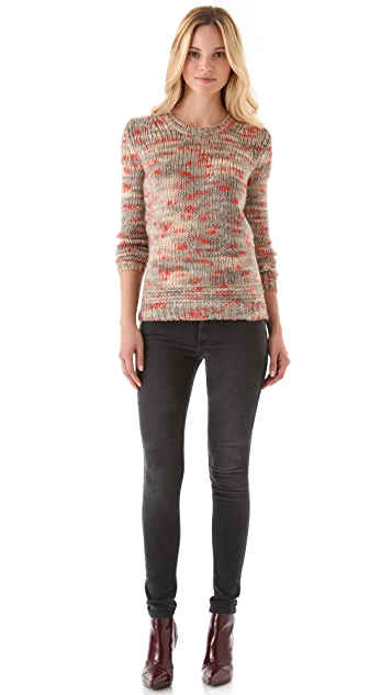 Theory Jaidyn B Fine Splash Sweater