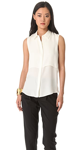 Theory Rosae Blouse