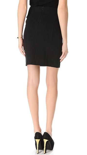 Theory Vantia Peplum Skirt