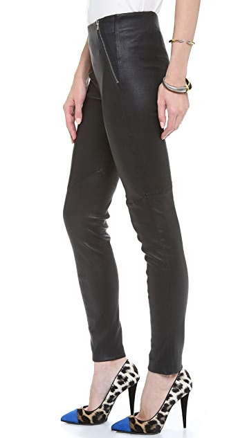 Theory Keil Leather Pants