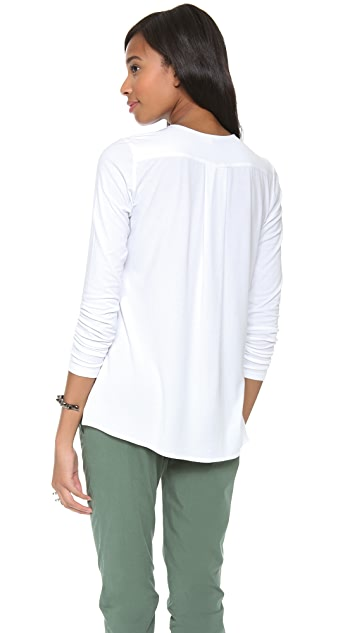 Theory Alania B Long Sleeve Top