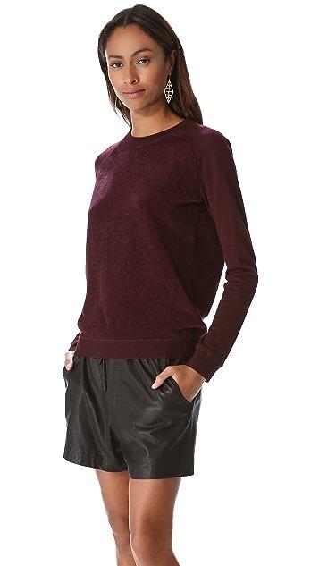 Theory Evrett B Long Sleeve Sweater