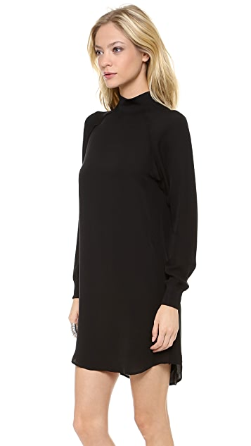 Theory Aerine Long Sleeve Dress